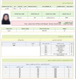 کارنامه های قبولی در آموزشکده فنی دختران نیشابور