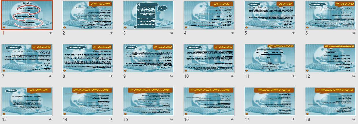 پاورپوینت نقش و هدف سیستم های اطلاعاتی حسابداری